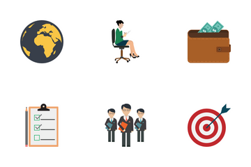 Business / Corporate Vector Icons Icon Pack