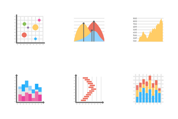 Business Data Graph And Charts Icon Pack