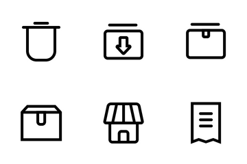 Business & E-commerce Icon Pack