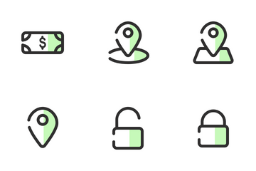 Business & E-commerce Filled Outline Icon Pack