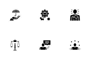 Business Ethics Moral Icon Pack