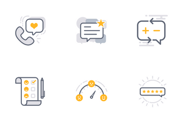 Business Feedback Icon Pack