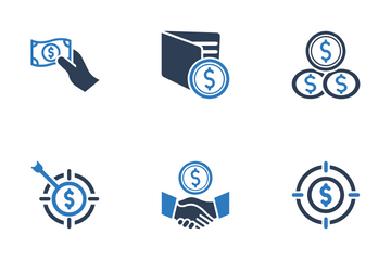Business Finanace And Banking Icon Pack