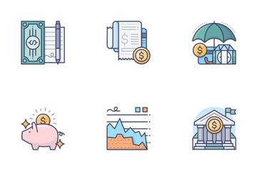 Business & Finance Icon Pack