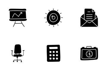 Business, Finance And Accounting Icon Pack