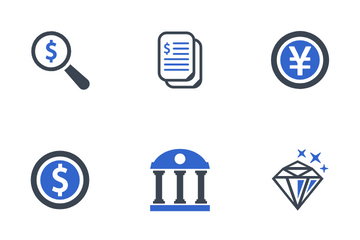 Business & Finance Set - 1 Icon Pack