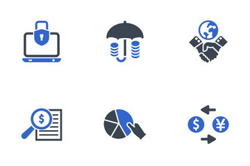 Business & Finance Set - 2 Icon Pack