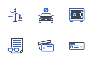 Business & Finance Set - 3 Icon Pack