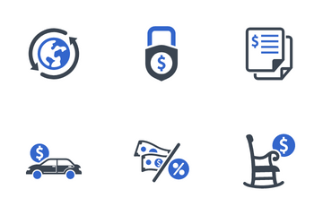 Business & Finance Set - 4 Icon Pack