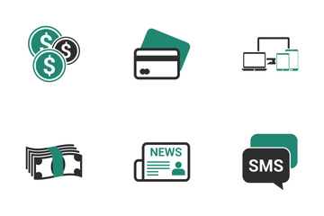 Business & Finance Vol 1 Icon Pack