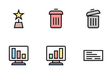 Business & Financial Icon Pack