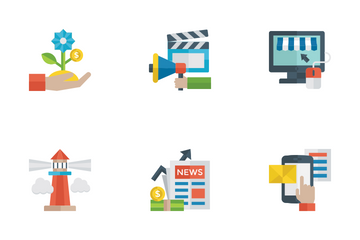 Business Flat Icons Icon Pack