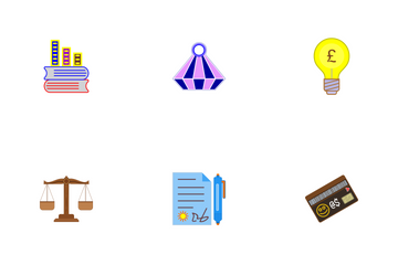 Business Flat Part-1-Set-4 Icon Pack
