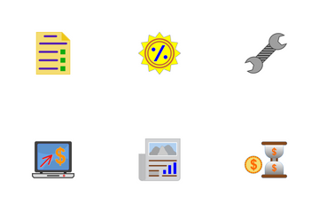 Business Flat Part-2-Set-4 Icon Pack