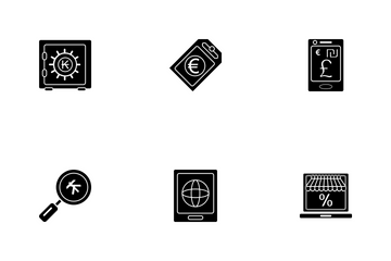 Business Glyph - 3 Part-10 Icon Pack