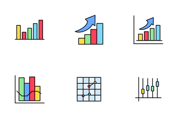 Business Graph Icon Pack
