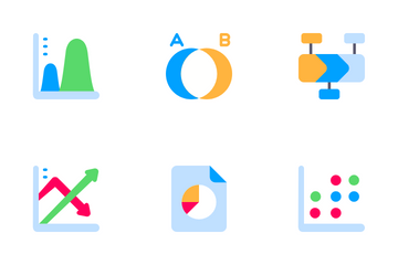 Business Graph And Chart Icon Pack