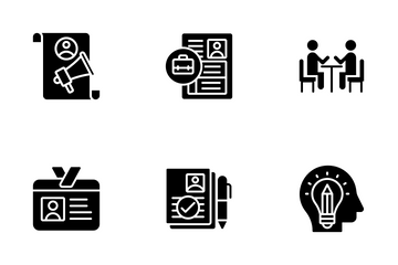 Business, HR Icon Pack