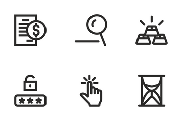 Business Icons Set Icon Pack