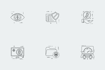 Business Illustration Line Vol 5 Icon Pack