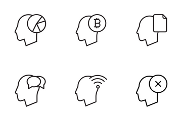 Business In Brain Icon Pack