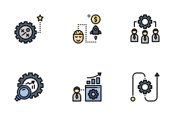 Business Incubator Icon Pack