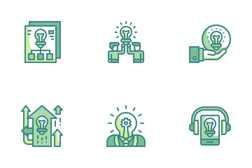 Business Innovation Icon Pack