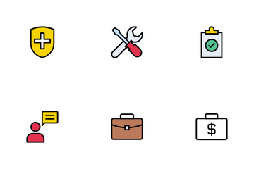 Business Insurance Icon Pack