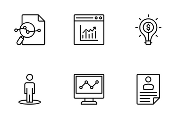 Business Intelligence Icon Pack