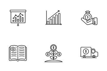 Business & Investment Icon Pack