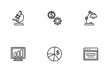 Business Line-1 Part-5 Icon Pack