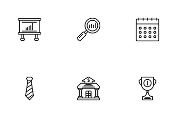 Business Line - 1 Part-6 Icon Pack