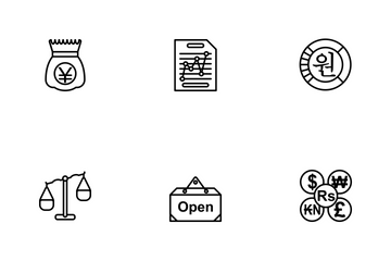 Business Line - 1 Part-7 Icon Pack