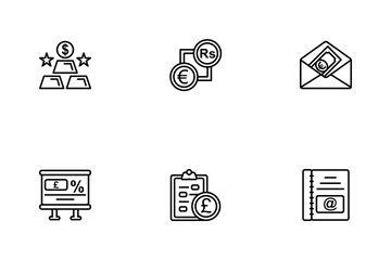 Business Line - 1 Part-9 Icon Pack