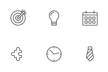 Business Line Icon Pack