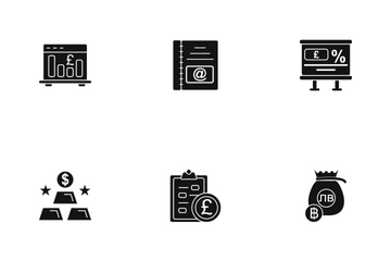 Business Line - 3 Part-9 Icon Pack