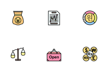 Business Line Filled - 2 Part-7 Icon Pack