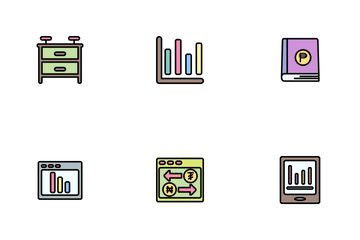 Business Line Filled - 2 Part-8 Icon Pack