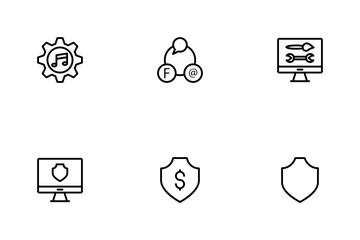 Business Line Icons Icon Pack