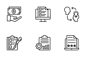 Business Management 1 Icon Pack