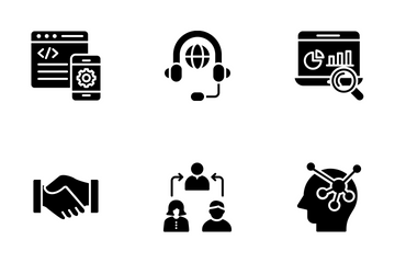 Business Management 2 Icon Pack