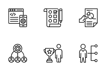 Business Management 3 Icon Pack