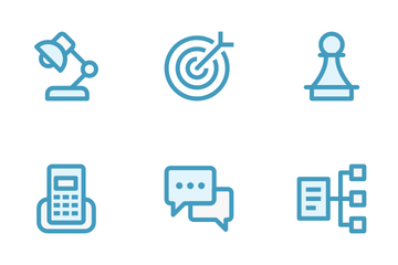 Business Management & Growth 2 Icon Pack