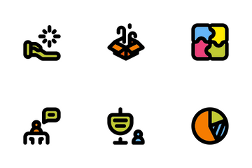 Business Management Set Icon Pack