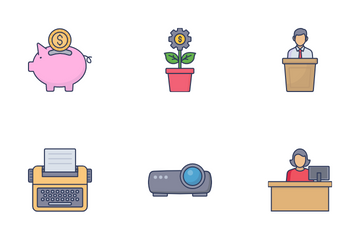 Business Management Vol 1 Icon Pack