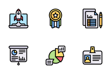 Business Marketing Icon Pack