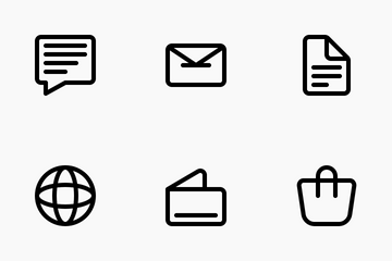 Business Media Icon Pack