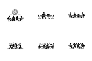 Business Meeting Icon Pack