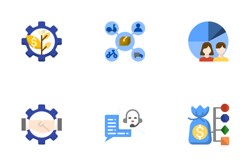 Business Model Icon Pack