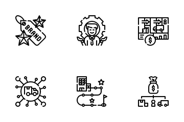 Business Model Canvas Icon Pack
